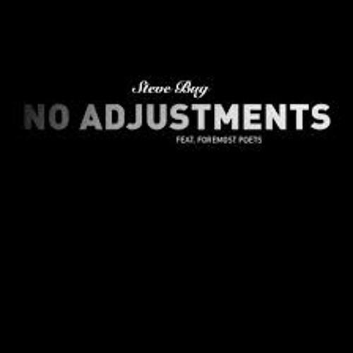 Steve Bug  - No Adjustments Feat Foremost Poets - ReAdjustment