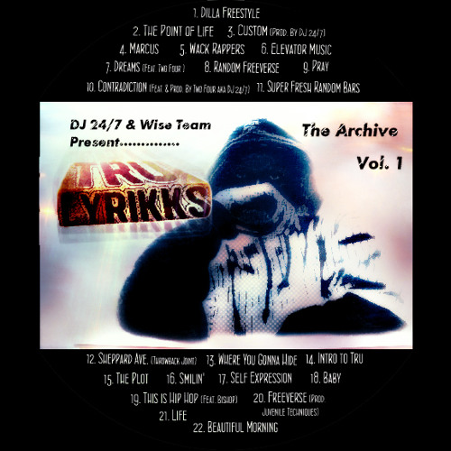 Tru Lyrikks - Dreams ft. Two-Four aka DJ 24 7 (Prod. by 9th wonder)