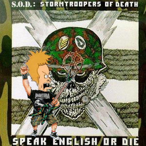 Beavis of Brutality March of s.o.d (S.O.D)cover