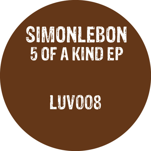 A1. Simonlebon & Jakobin - Can´t Do Without You - LUV008