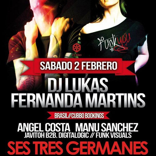 Lukas + Feranda Martins 4decks @ Ses tres germanes 02.02.2013 SPAIN