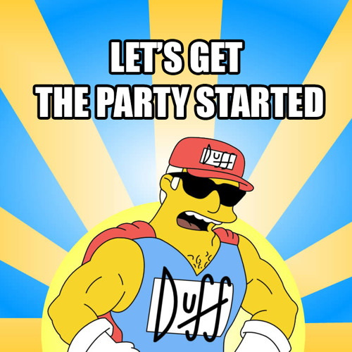 Let's get the party started - Benny Bates