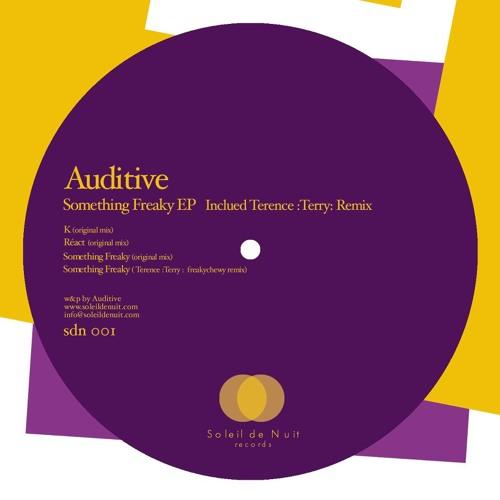 Auditive - K (Original Mix) SDN001 Snippet