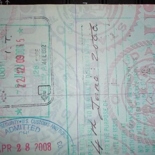 Passport,(freestyle) unpolished