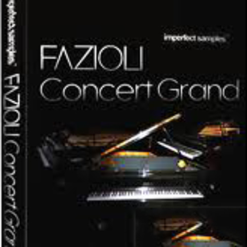 Fazioli ebony concert grand