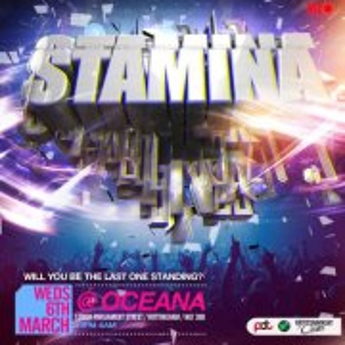 Stamina Official Mix CD: 6th March @ Oceana Nottingham