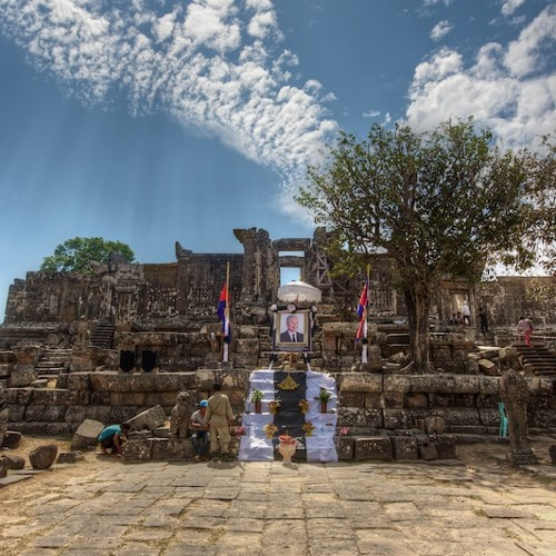 Sounds at Preah Vihear Temple, Cambodia