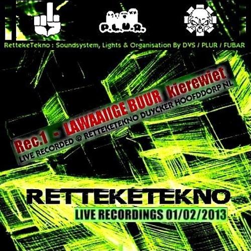 retteketekno live recordings 01/02/2013