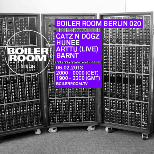 Hunee 60 Min Boiler Room Berlin Mix