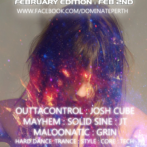 Outtacontrol @ Dominate: Feb 2nd, 2013 (PDMA Best Hardstyle DJ)
