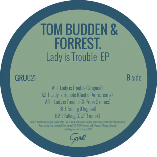 Tom Budden & Forrest. - Lady Is Trouble (Original)