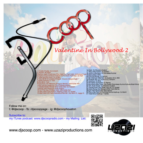 Valentine In Bollywood 2 mixed by DJ Scoop