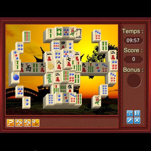 Temple Of Majong - Puzzle Game - iSCool Entertainment - Theme Chine (générique)