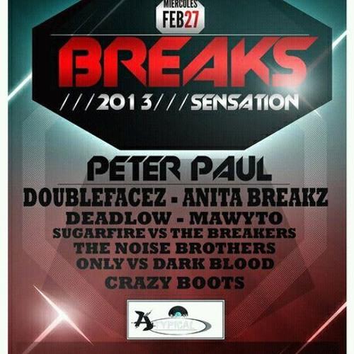 CrazyBots @ Break Sensation 2013 (Live set)