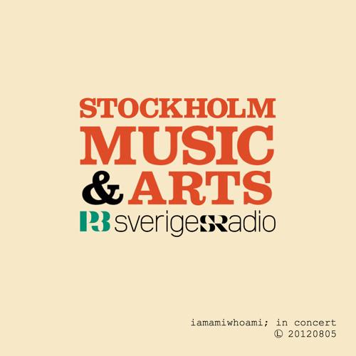 iamamiwhoami; in due order (in concert: Stockholm Music & Arts)
