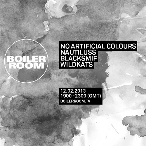 No Artificial Colours Boiler Room Dj Set