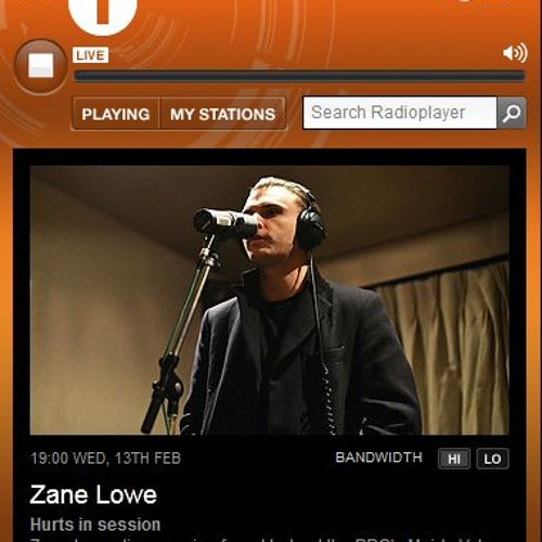 Hurts in session at the BBC's Maida Vale studios