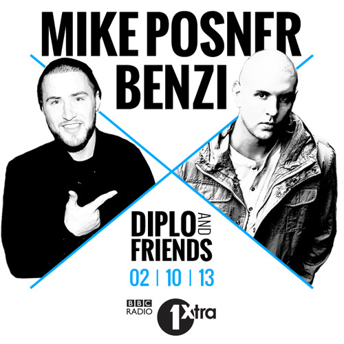 BENZI & MIKE POSNER | THE SEXY MIXX (DIPLO & FRIENDS)