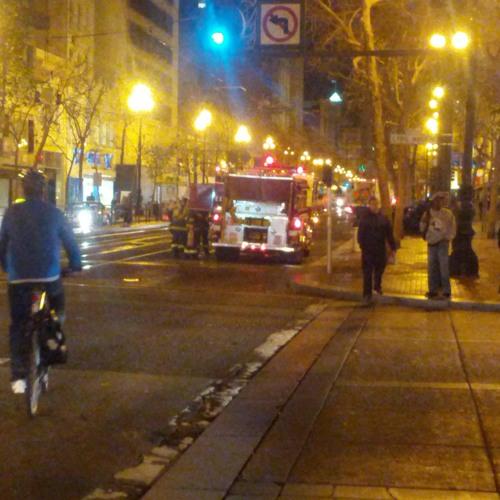 Firetruck at San Francisco
