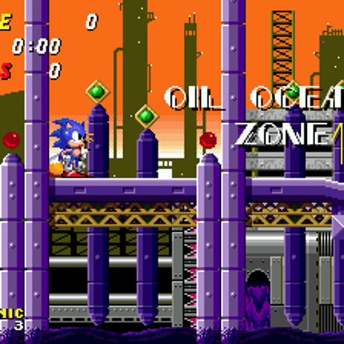 Sonic 2 - Oil Ocean Zone (Remastered by Coldberg)