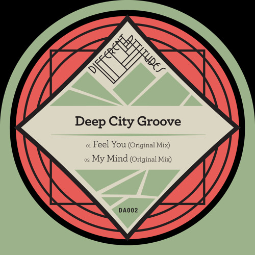 [DA002] Deep City Groove - Feel You / My Mind [Previews]