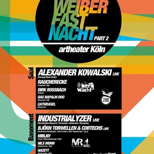 Das Napalm Duo @ BergWacht&200 Weiberfastnacht Artheater Cologne 07.02.2013
