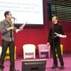 Duo de slam UnDeuxGround en clôture du débat sur l'égalité femme / homme
