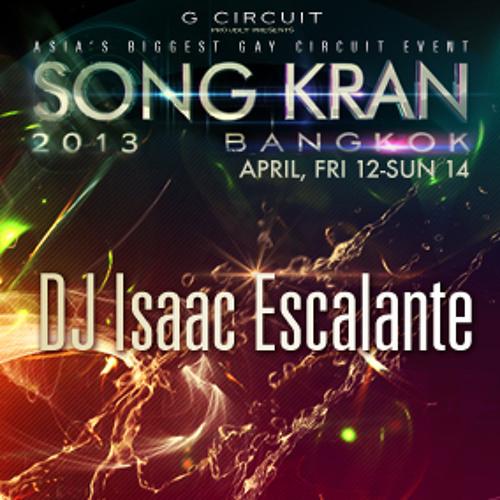 Isaac Escalante  Song Kran Bangkok