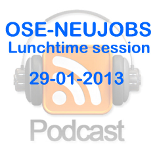 OSE-NEUJOBS session 290113 - Comments and Debate