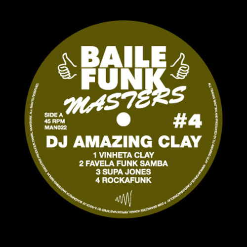 DJ Amazing Clay - Rockafunk