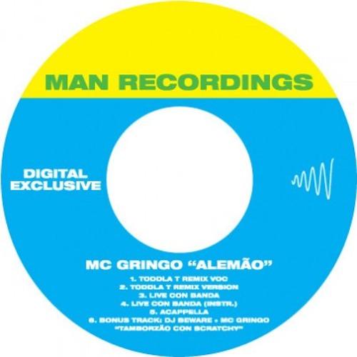 MC Gringo - Alemão (Toddla T Remix)