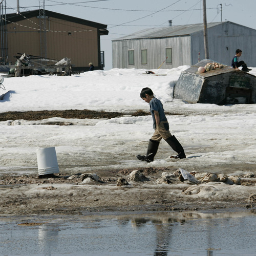 Melting permafrost creates North America's first climate refugees