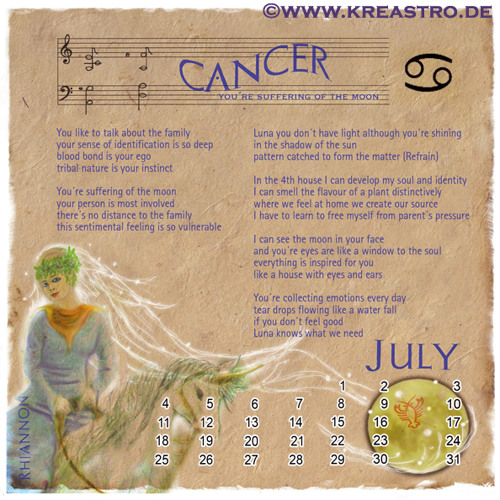 CANCER - You're Suffering of the Moon – by Narina