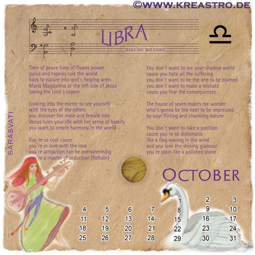 LIBRA - You're so Cool – by Narina