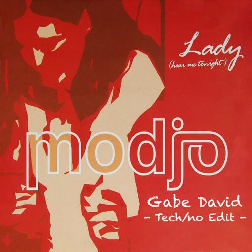 Modjo - Lady - Gabe David Tech/no Edit