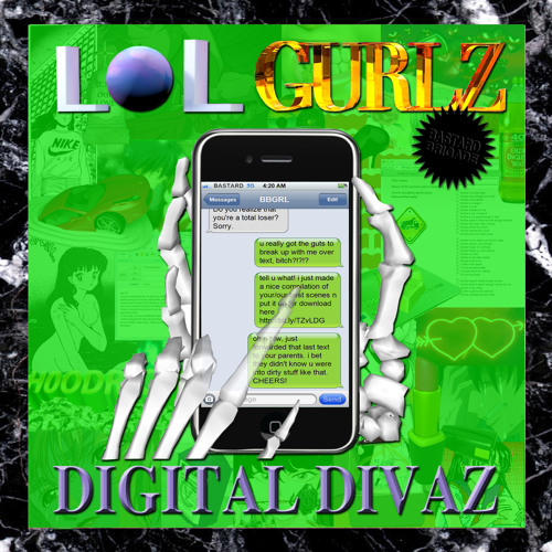 LOLGurlz-Digital Divaz ft. Uniique (❦DIGITAL CHERRY POP❦/LOST IN THE REALM)