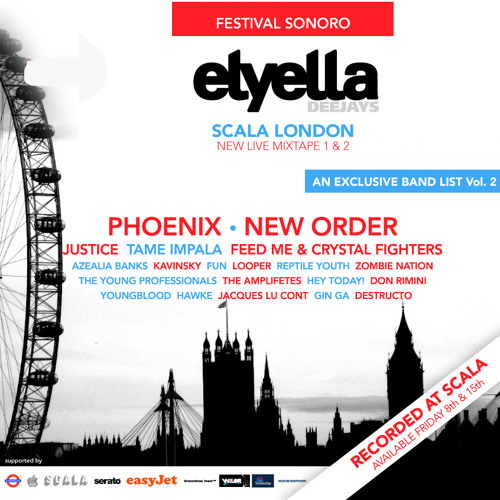 Festival Sonoro@Scala London Vol.2 by ELYELLA DJs