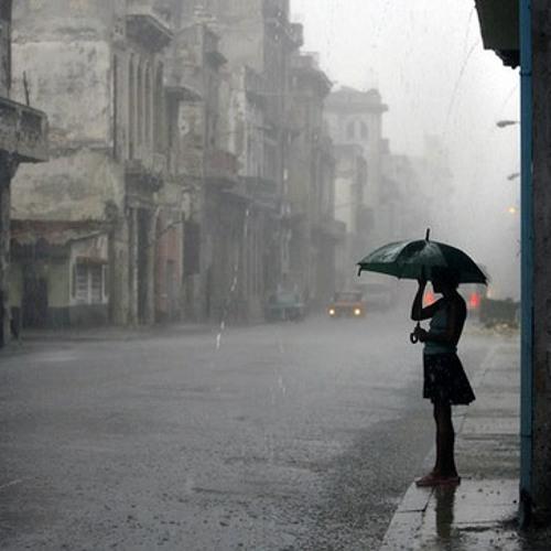 rain/drops/umbrella Modular patch