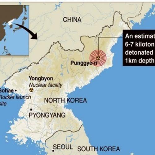 North Korea Nuclear Test Feb 12th 2013