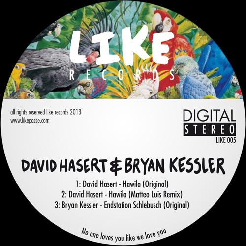 David Hasert - Hawila (Matteo Luis Remix) - LIKE005