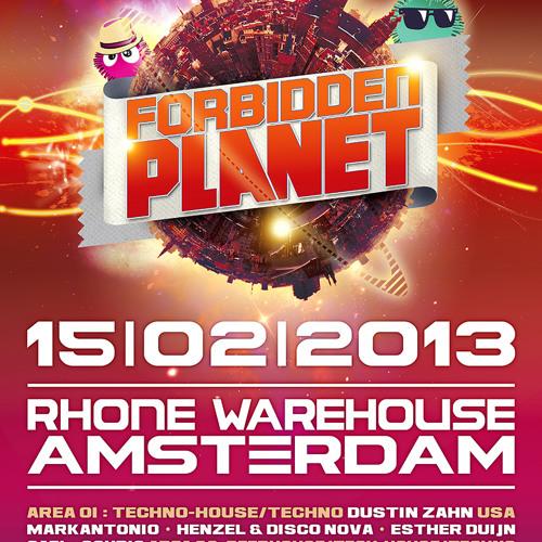 Souris (sub division) @ Forbidden Planet 15-02-2013, Warehouse Amsterdam
