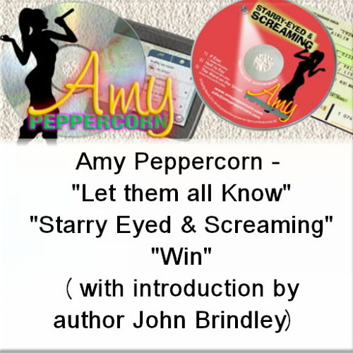 Amy Peppercorn - 'Let Them All Know', 'Starry Eyed & Screaming' and 'Win'  (with intro)