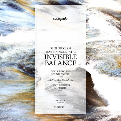 Deni diezer & martin nonstatic - invisible balance-  release  ( info)