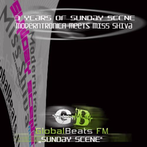 SUNDAY SCENE SPECIAL Moderntronica meets Miss Shiva @ GlobalbeatsFM