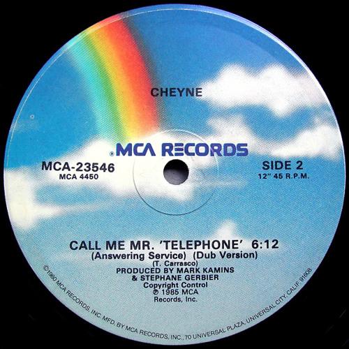 Cheyne - Mr. Telephone (Future Feelings Version)