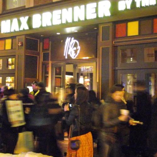 Palestine's Valentines Protest Max Brenner