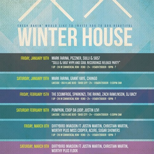Winter House Live Set @ 1up in Reno