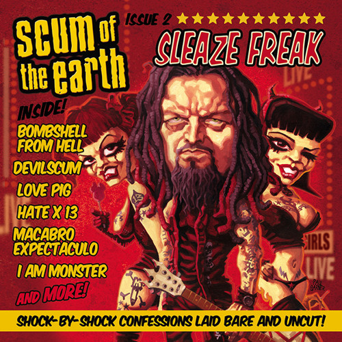 SCUM OF THE EARTH - Love Pig (feat. Metal Sanaz)