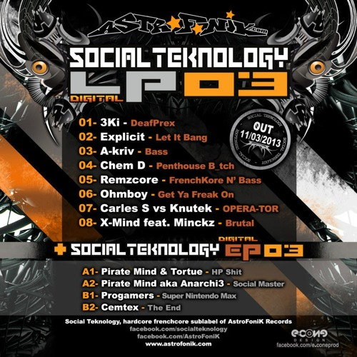 3Ki - DeafPrex // preview // OUT NOW on Social Teknology LP03