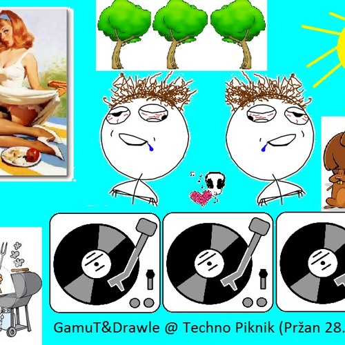 GamuT&Drawle-Driving on Three (Live @ Techno Picnic, Pržan 28.9.12)